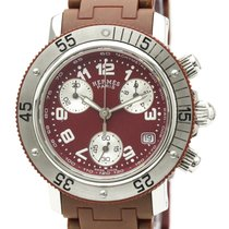 Hermès Clipper CL2.318 Satisfăcătoare Otel 33mm Cuart