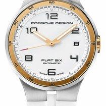 Porsche Design Flat Six Steel 40mm Gold Arabic numerals United States of America, New York, Monsey