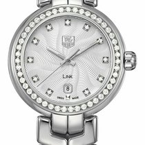 TAG Heuer Link Lady new Quartz Watch with original box and original papers WAT1414.BA0954 WAT1414BA0954