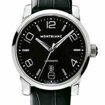 Montblanc Timewalker Steel 39mm Black Arabic numerals United States of America, New York, Monsey