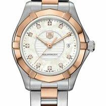 TAG Heuer Aquaracer Lady 27mm Quartz new Watch with original box and original papers