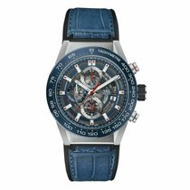 TAG Heuer Steel Automatic 43mm new Carrera Calibre HEUER 01