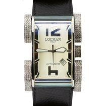 Locman pre-owned Automatic 40mm Champagne Sapphire crystal