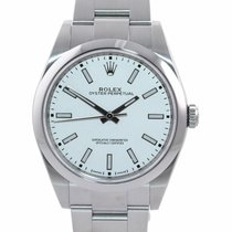 Rolex Oyster Perpetual 39 Steel 39mm White United States of America, New York, Huntington
