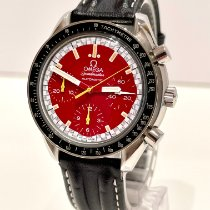 Omega Speedmaster Racing occasion 39mm Rouge Chronographe Cuir