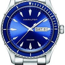 Hamilton Jazzmaster Seaview Steel 42mm Blue No numerals United States of America, New York, NY