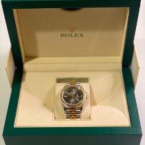 Rolex Silver Automatic Grey Roman numerals 36mm new Datejust