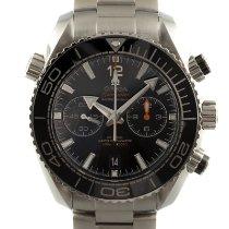 歐米茄 Seamaster Planet Ocean Chronograph 鋼 45.5mm 黑色