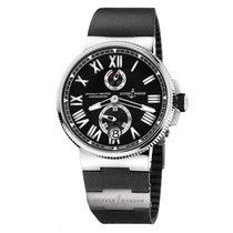 雅典 Marine Chronometer Manufacture 1183-122-3/42 全新 钢 45mm 自动上弦