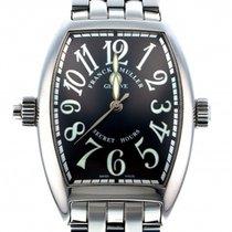 Franck Muller Secret Hours Steel 36mm Black
