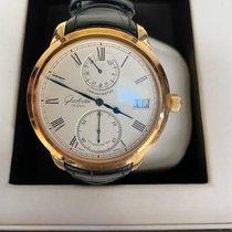 Glashütte Original new Manual winding Display back Small seconds Chronometer 42mm Rose gold Sapphire crystal