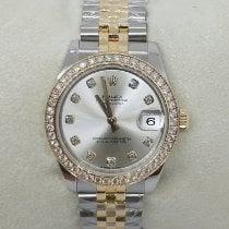 Rolex Lady-Datejust Gold/Steel 31mm Silver No numerals UAE, Sharjah