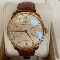 IWC Portuguese Automatic Rose gold 43mm Silver Arabic numerals United States of America, New York, roslyn