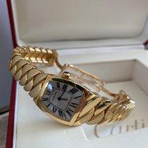 Cartier La Dona de Cartier Yellow gold Silver Roman numerals United States of America, California, Glendale