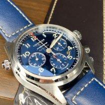 Longines Spirit Steel 42mm Blue Arabic numerals
