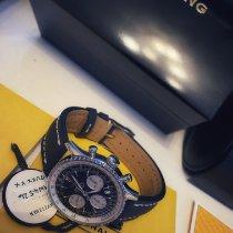 Breitling Navitimer 1 B01 Chronograph 43 Steel 43mm Black No numerals