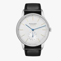 NOMOS Orion Neomatik Steel 38.5mm Silver United States of America, New Jersey, Princeton