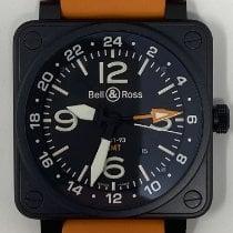 Bell & Ross BR 01-93 GMT Steel 46mm Black Arabic numerals United States of America, Nevada, LAS VEGAS