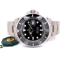 Rolex Sea-Dweller pre-owned 43mm Black Date Steel