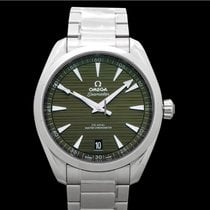 欧米茄 Seamaster Aqua Terra 钢 41mm 绿色 无数字