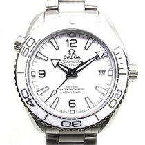 Omega Seamaster Planet Ocean Steel 39.5mm White Arabic numerals