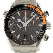 Omega Seamaster Planet Ocean Chronograph Çelik 45.5mm Siyah