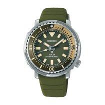 Seiko Prospex Otel 38.7mmmm Verde Fara cifre