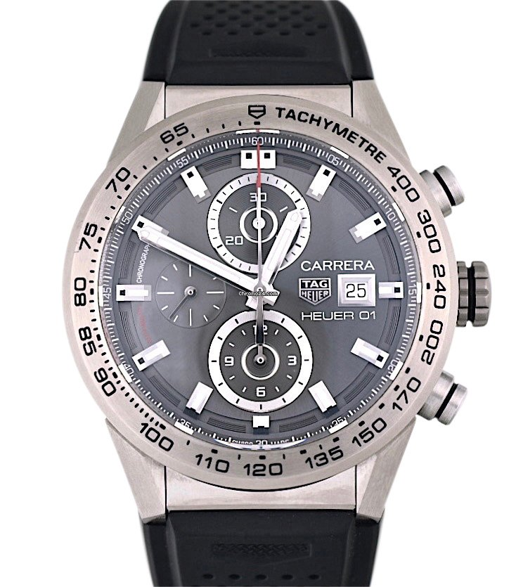 TAG Heuer Carrera Calibre HEUER 01 CAR208Z.FT6046 2019 pre-owned