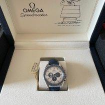 Omega Speedmaster Acero 42mm Plata Sin cifras