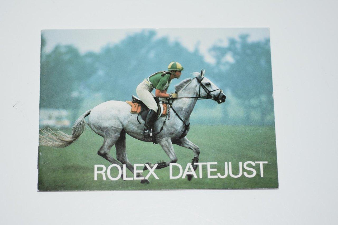 Rolex Datejust 1988 подержанные