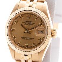 Rolex Datejust Oro amarillo 26mm Oro Arábigos
