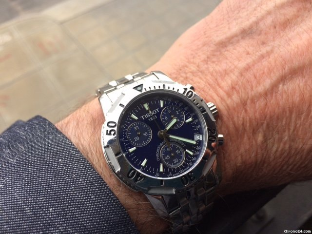 Tissot PRS 200 T362/462 2001 pre-owned