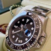 Rolex GMT-Master II 116710LN Ungetragen Stahl 40mm Automatik