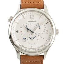 Jaeger-LeCoultre Master Geographic Steel 40mm Silver