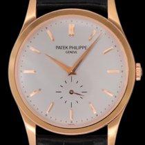 Patek Philippe Calatrava Rose gold 37mm Silver No numerals United States of America, New York, New York