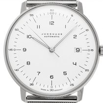 Junghans max bill Automatic Steel 38mm White Arabic numerals
