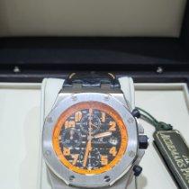 Audemars Piguet Royal Oak Offshore Chronograph Volcano Steel Black Arabic numerals