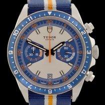 Tudor Heritage Chrono Blue Steel 42mm No numerals