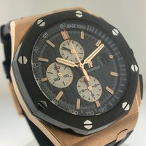 Audemars Piguet Royal Oak Offshore Chronograph Rose gold 44mm Black No numerals United States of America, California, Beverly Hills