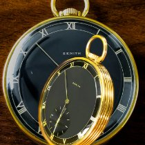 Zenith Yellow gold Manual winding pre-owned United States of America, New York, New York, New York