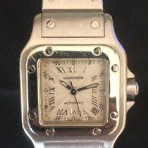 Cartier 2423 Сталь Santos Galbée 24mm подержанные