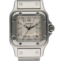 Cartier 2423 Steel Santos Galbée 24mm pre-owned United States of America, New York, New York