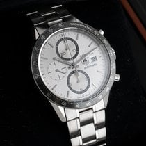 TAG Heuer Carrera Calibre 16 Steel 41mm Silver United States of America, New Jersey, Englewood