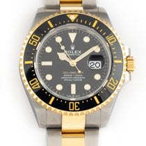 Rolex Sea-Dweller Yellow gold 43mm Black No numerals United States of America, Florida, Hollywood