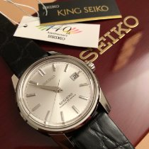 Seiko King Steel 38.5mm Silver No numerals United States of America, Virginia, Leesburg