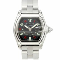 Cartier Roadster W62002V3 Good Steel 39mm Automatic