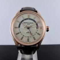 Frederique Constant Steel Automatic White No numerals 42mm new Classics Index GMT