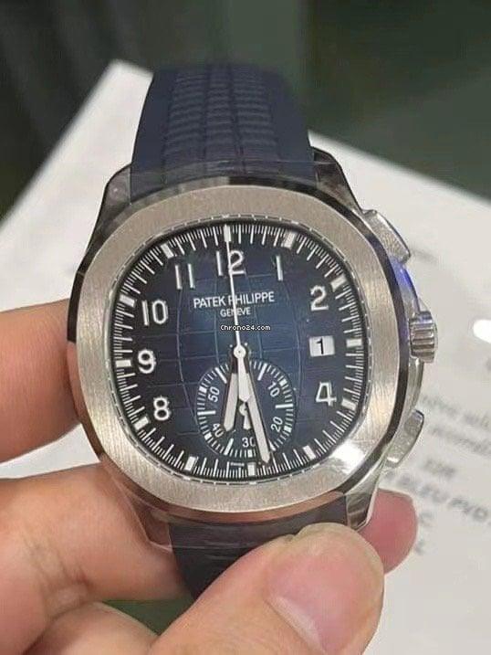 百达翡丽 Aquanaut 5968G-001 全新