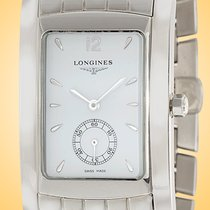 Longines pre-owned Quartz 26.3mm White Sapphire crystal 3 ATM