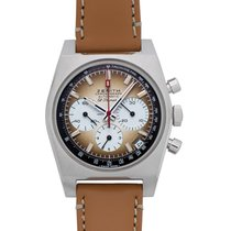 Zenith 03.A384.400/385.C855 New Steel 37mm Automatic